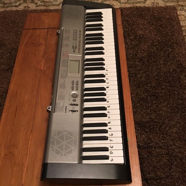 Casio Keyboard (Great for beginners!)