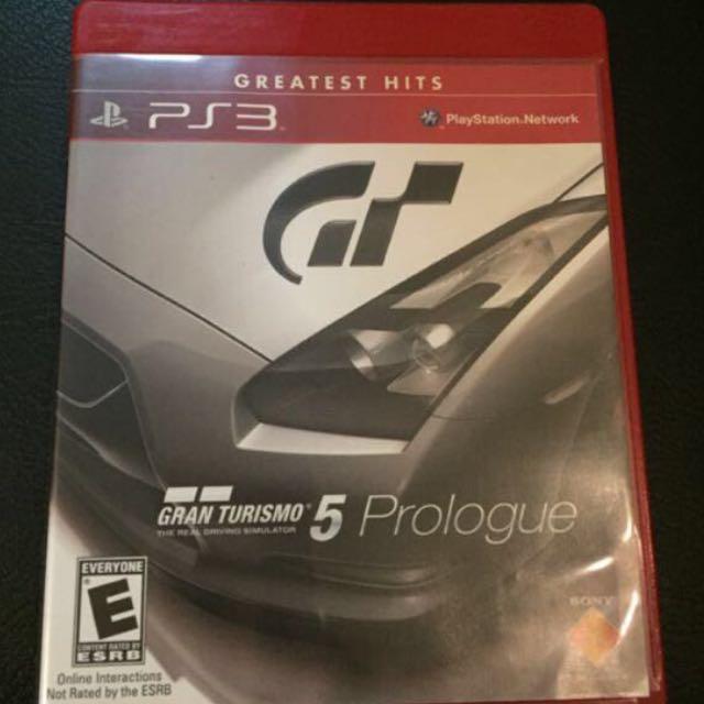 Cd Ps3 Grand Turismo 5