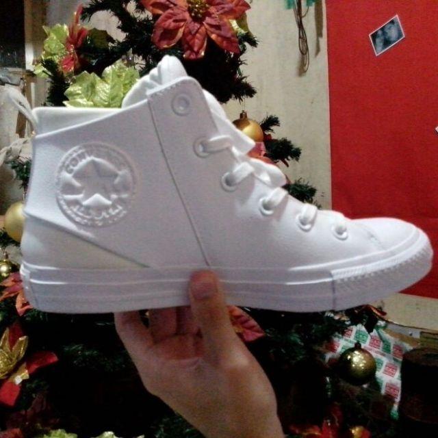 Converse Sloane Mono Leather All White