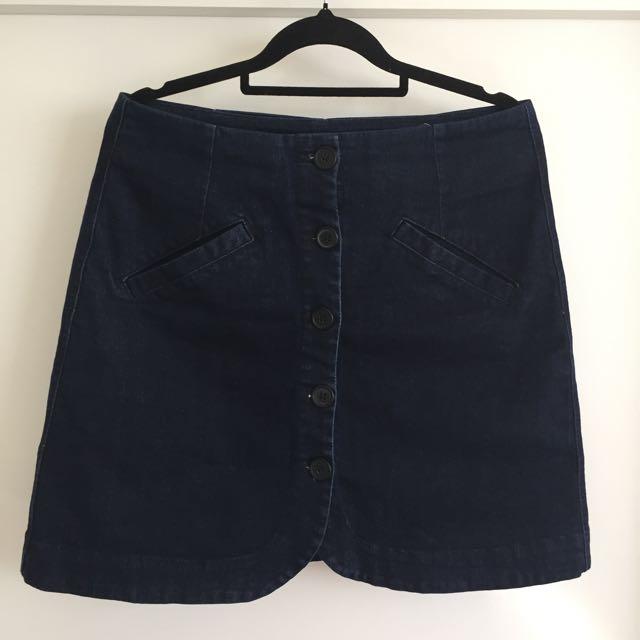 Country Road Denim Skirt (current season)