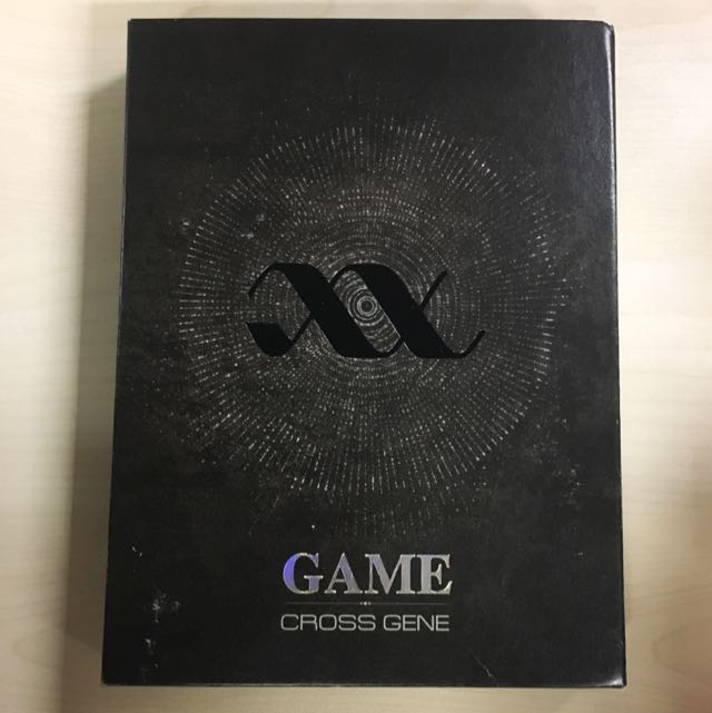 Cross Gene 'Game' album + photobooks