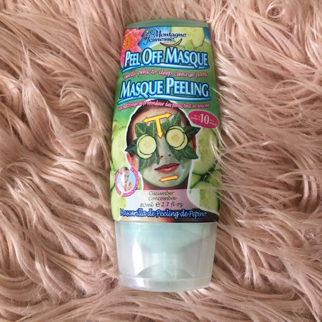 Cucumber Peel Off Face Mask