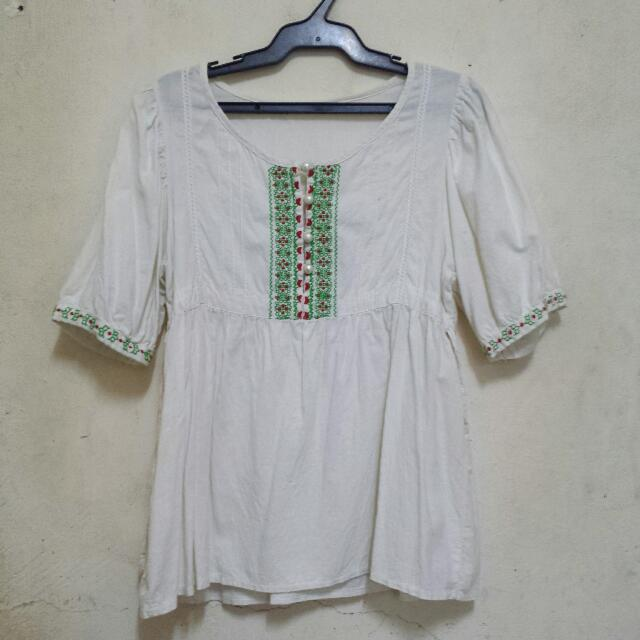 Cute Peasant Blouse