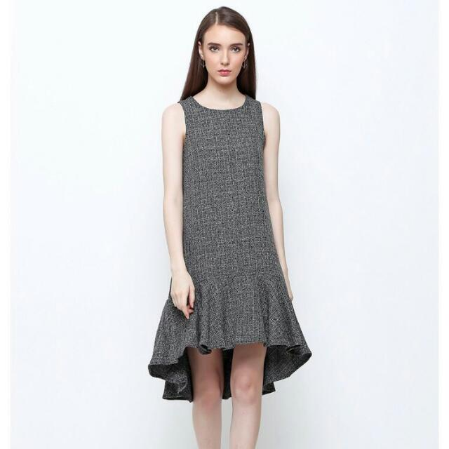 Daniela Dress In Grey