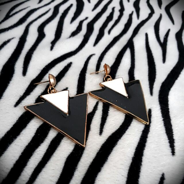 Double Triangle Earing