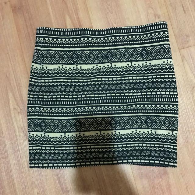 Forever 21 Bandage Skirt.