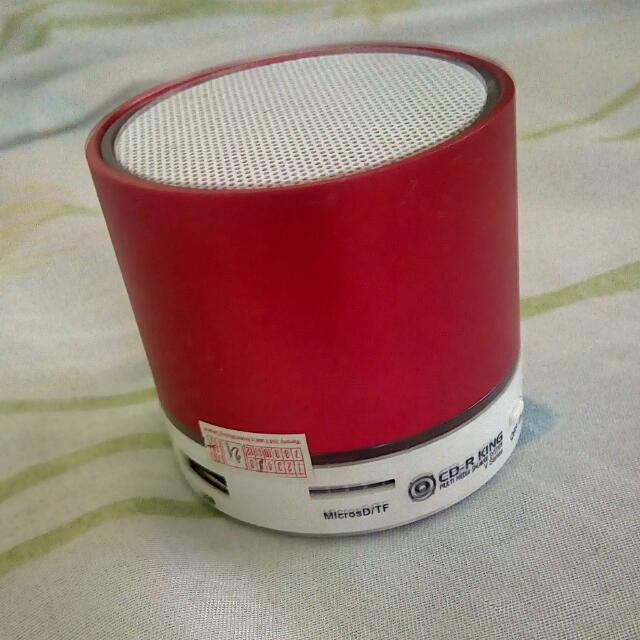 FREE!!! CDRKING Bluetooth speaker NEGOTIABLE