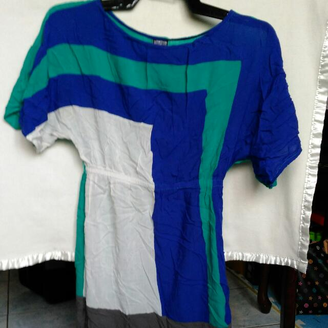 Freeway Color Block Dress