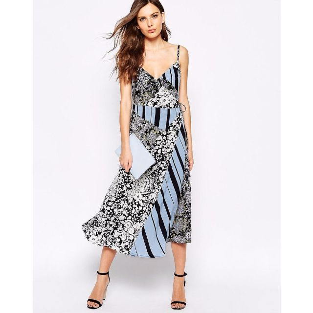 French Connection Freida Floral Wrap Dress