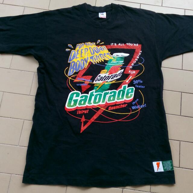 8f25aee16ad GATORADE T-SHIRT, Men's Fashion, Clothes, Tops on Carousell