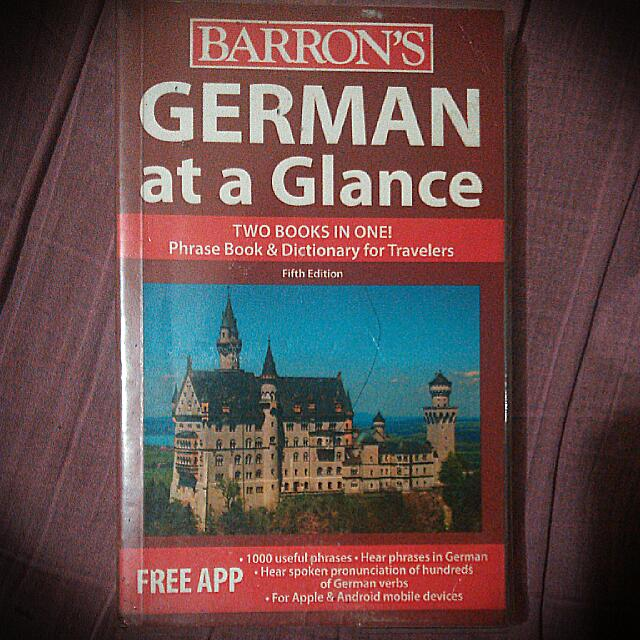 German At A Glance , Study German