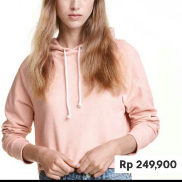 H&M Crop Hooded - Reprice
