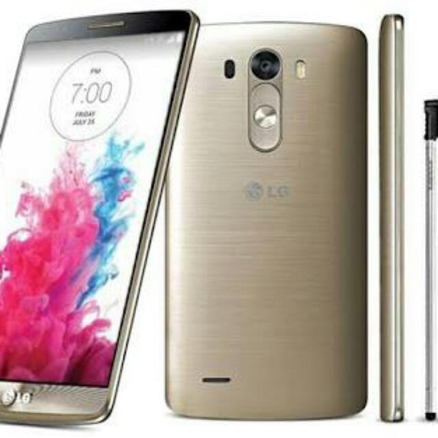 Hp Lg G3 Stylus Gold Mobile Phones Tablets Android Phones Lg On