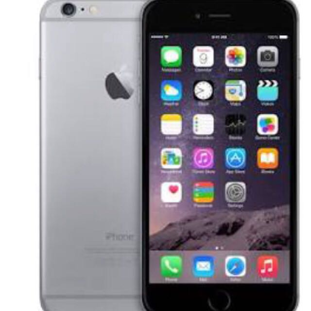 iPhone 6 space grey 16GB