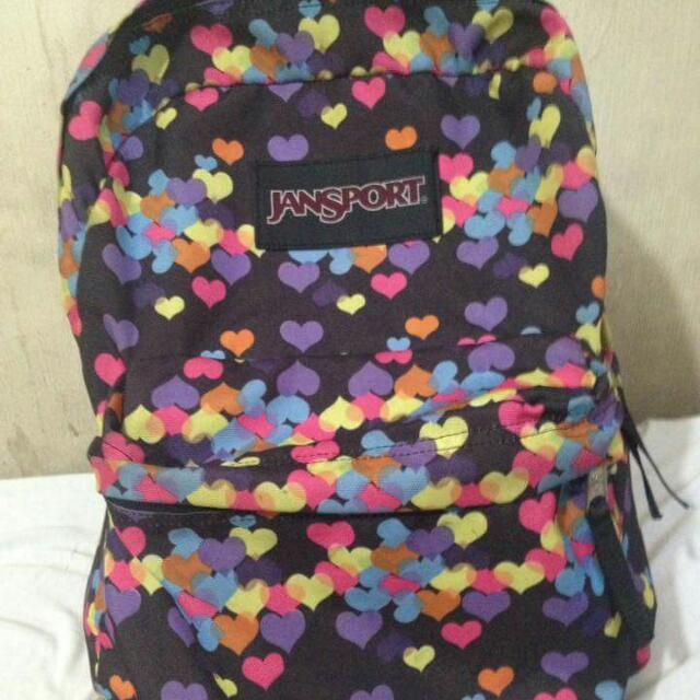 Jansport Bag ( Medium) Not Sure Sa Size Sorry