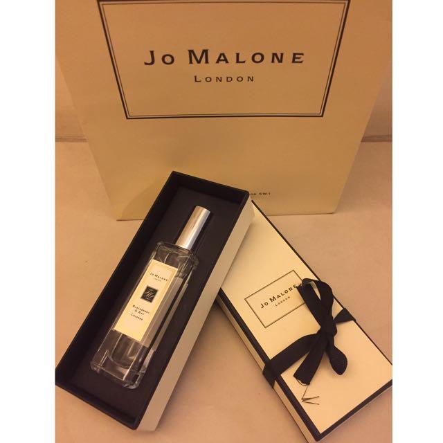 《JO MALONE》Blackberry & Bay 黑莓與月桂葉香水 30ml