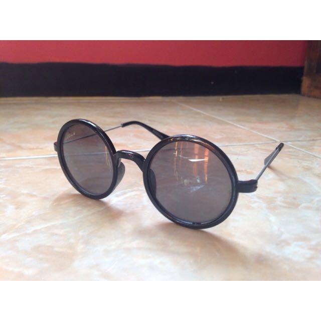 Kacamata Hitan Frame Bulat