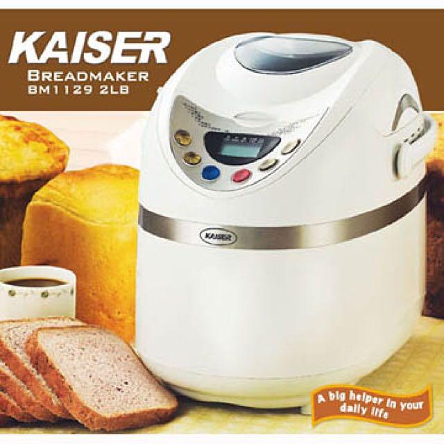Kaiser 威寶多功能麵包機(全新急售便宜賣)
