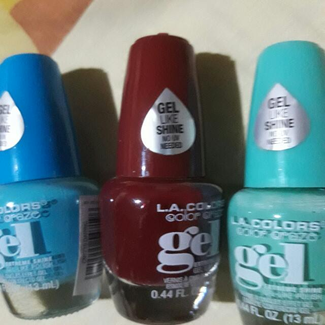 L.A. Colors Gel Like Nail Polish