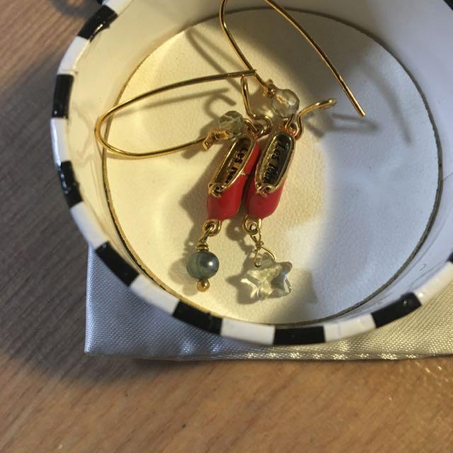 法國Les Nereides芭蕾舞耳環