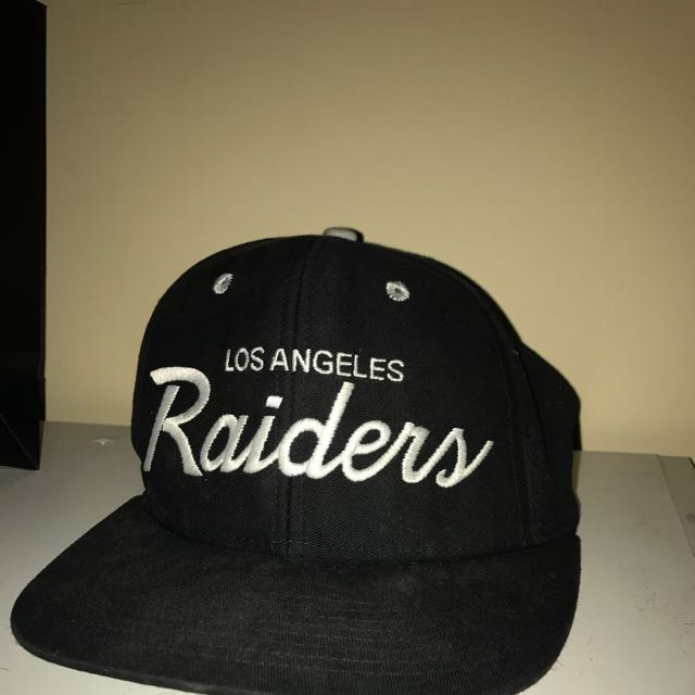 Los Angeles Raiders Hat, Men's Fashion, Accessories on Carousell