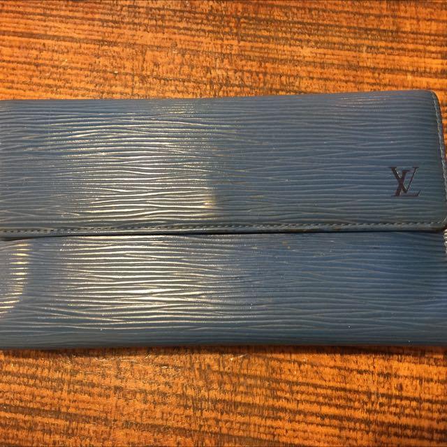 LV水波紋長夾