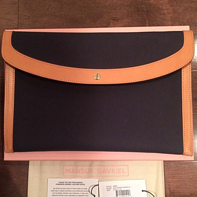 MANSUR GAVRIEL Authentic Envelope Clutch