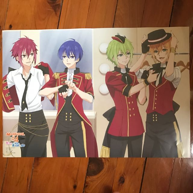 Marginal 4 / Star-Myu Anime Poster