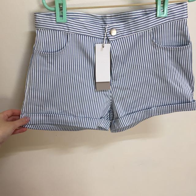 MEIERQ 全新條紋短褲