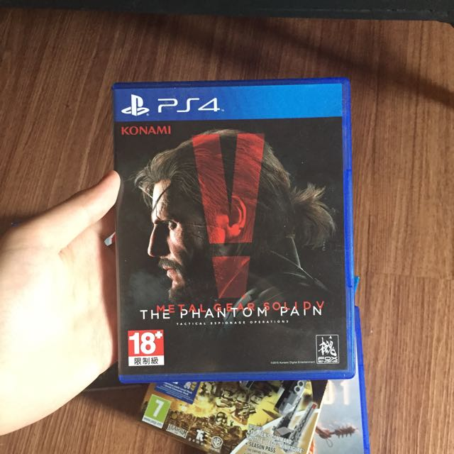 Metal Gear Solid V Phantom Pain PS4