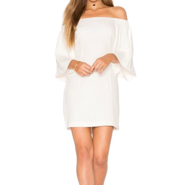 Mink Pink White Dress