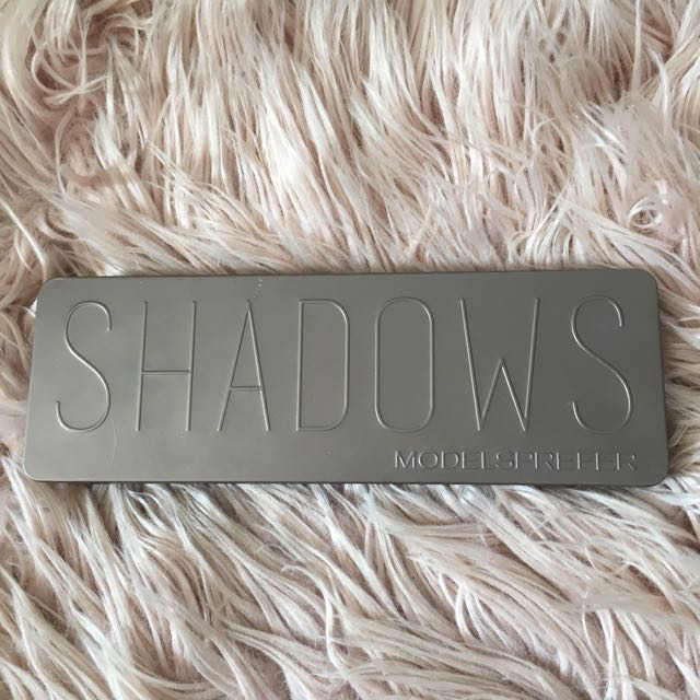 Modelsprefer Matte Nude Shadow Palette