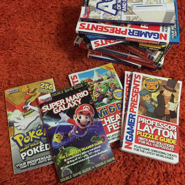 Nintendo Gamer Magazines. NGamer.