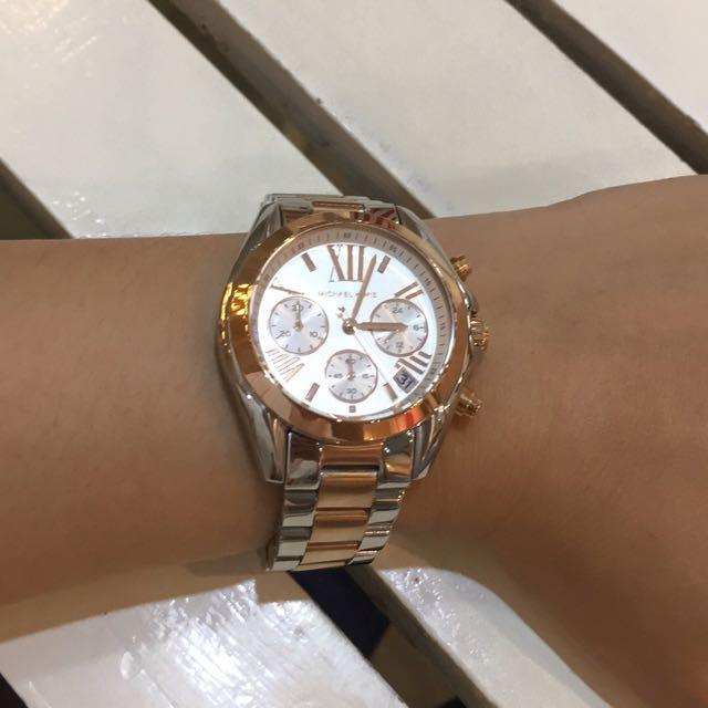 Original Michael Kors Watch(two Tone)