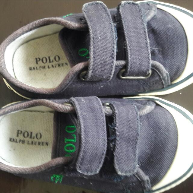 Preloved RL Polo Toddler shoes