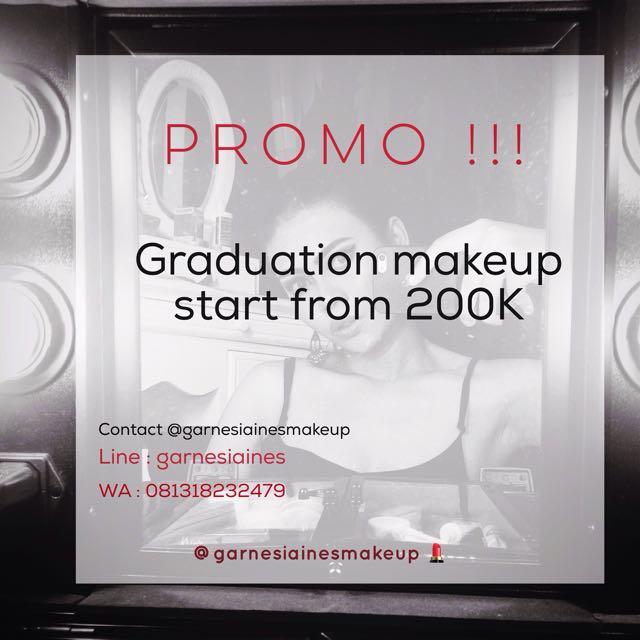 Promo Makeup Service :)