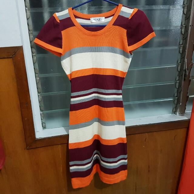 PSGB Striped Dress