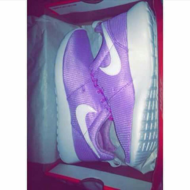 Purple Nike Roshes