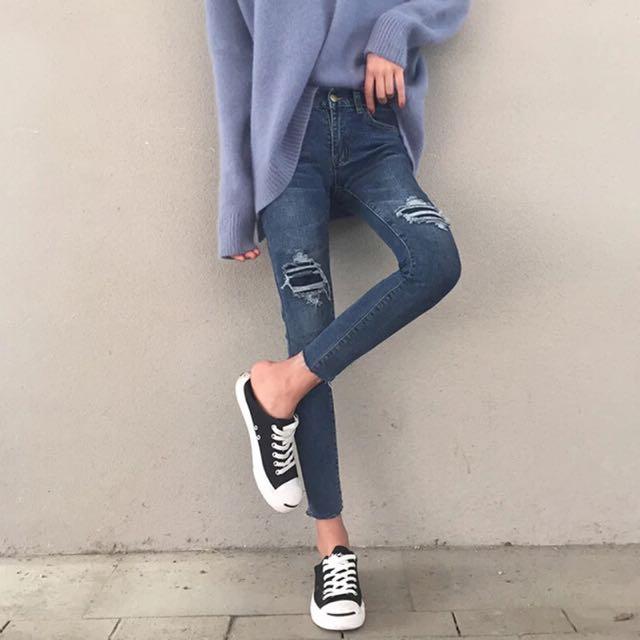 Regine Ripped Jeans