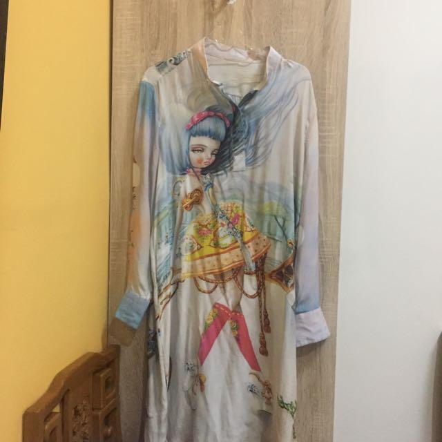 Satin Dress-Shirt