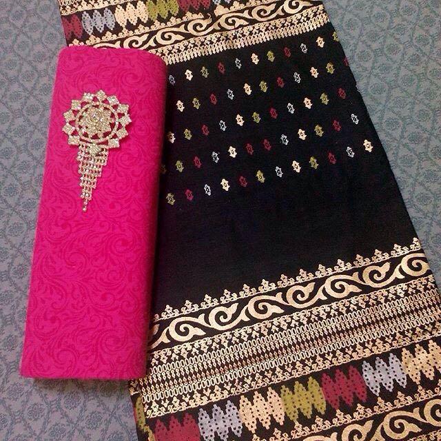 Set Kain Embos + Batik