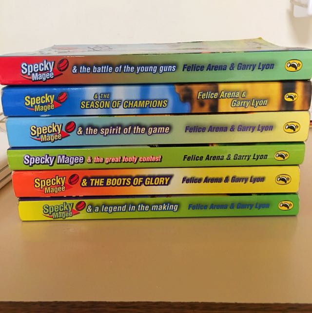 Specky Magee Books