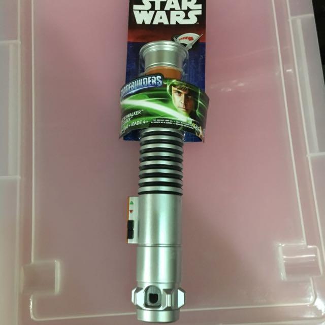 Star Wars Lightsaber Toy Luke Skywalker Toys Games Bricks Figurines On Carousell