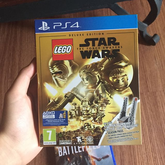 Star Wars The Force Awakens Deluxe Edition PS4