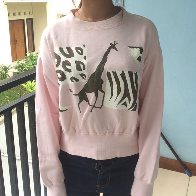 Sweater Pink Jerapah