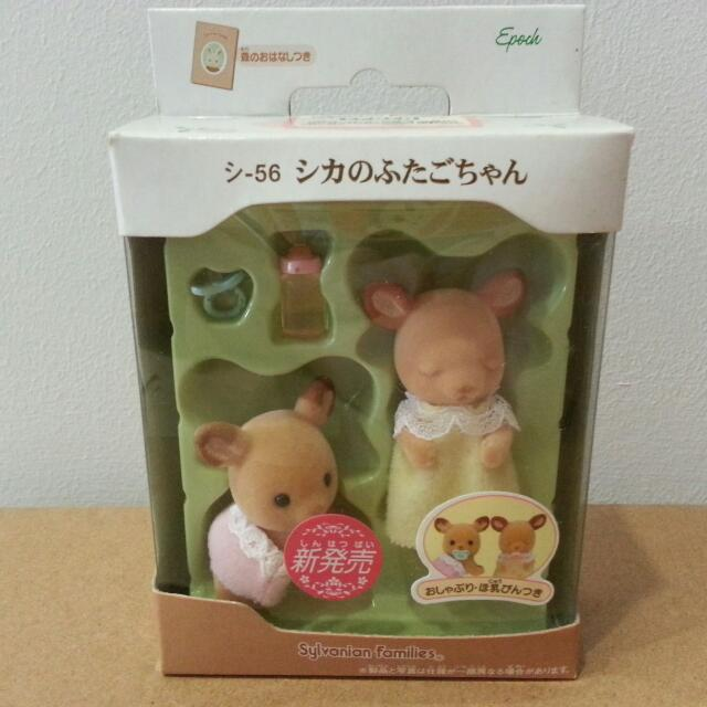 Sylvanian Families deer baby Epoch japan NEW
