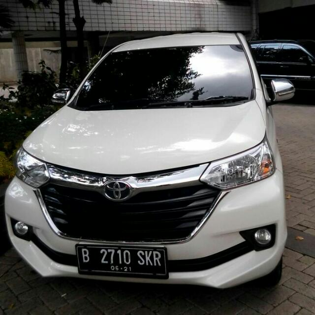 Take Over Avanza Tipe G Manual