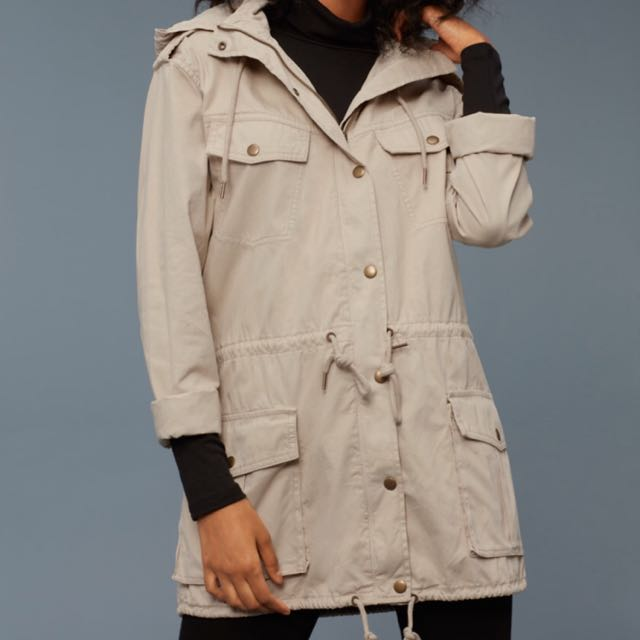 Talula Trooper Jacket Beige