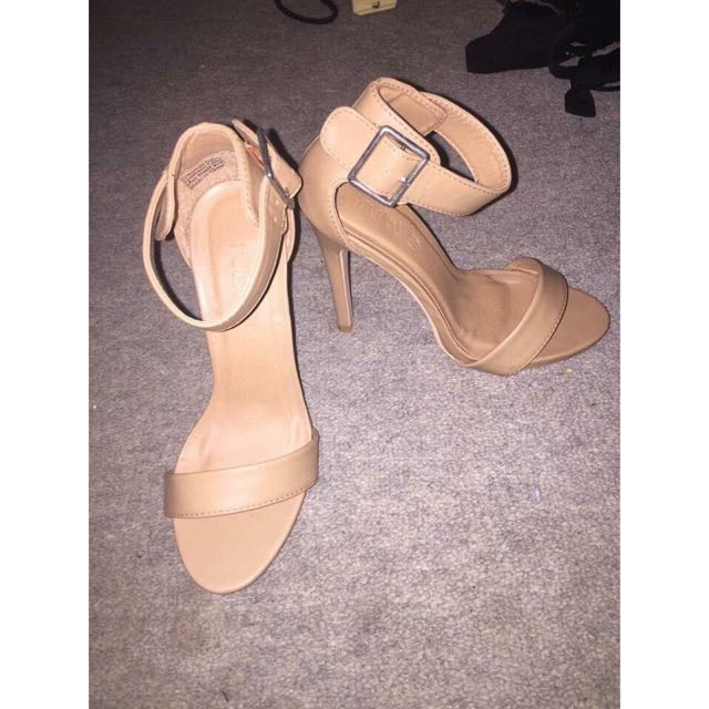 Tan Rubi Heels