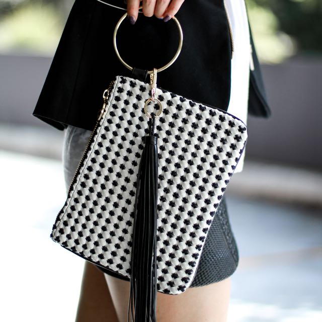 The Madame Bag - The Crosses Clutch Bag